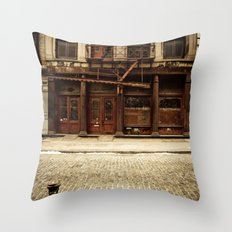 Greene Street SoHo Throw Pillow