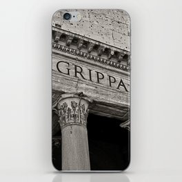 The Pantheon black and white iPhone Skin