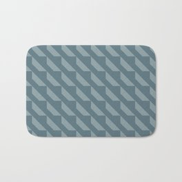 Modern Simple Geometric Pattern 4.4 Bath Mat