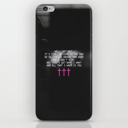 The Epilogue Crosses iPhone Skin
