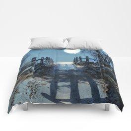 Under The Moonbeams Comforters