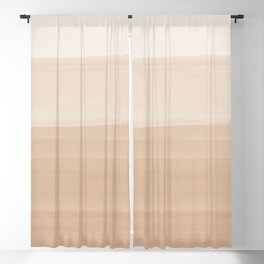 Touching Warm Beige Watercolor Abstract #1 #painting #decor #art #society6 Blackout Curtain