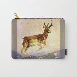 Pronghorn in the Morning Carry-All Pouch