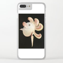 Dumbo Octopus Clear iPhone Case