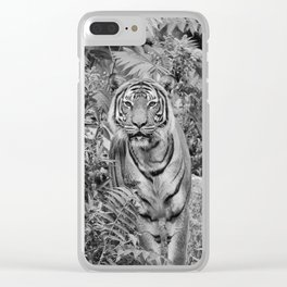 Tiger Mimicry Clear iPhone Case