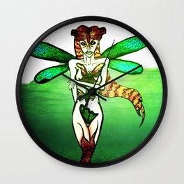 ButterflyWoman Wall Clock