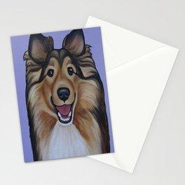"Rough Collie ""Lassie"" Portrait Stationery Cards"