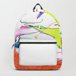 Abstract Landscape 1 Backpack