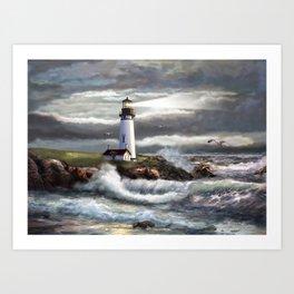 Beam of Hope Art Print