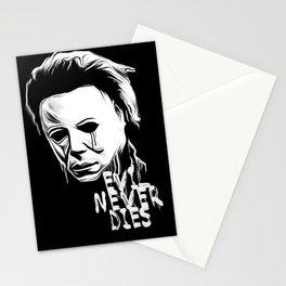Evil Never Dies Stationery Cards