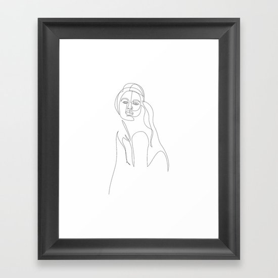 one line woman by dronathan