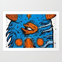 Detail. Art Print