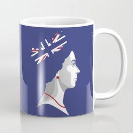 Portrait of Her Majesty The Queen Elizabeth II Coffee Mug