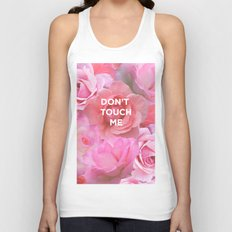 Don't Touch Me Unisex Tank Top
