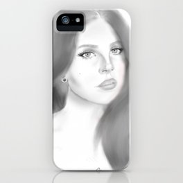 Del Rey (plain) iPhone Case