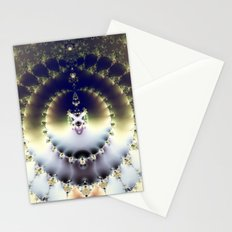 Psychedelic Sun Stationery Cards