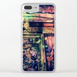 Ruin bar Clear iPhone Case