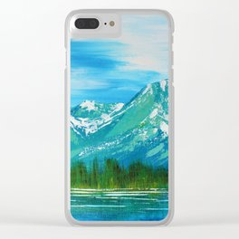 Cool Waters Clear iPhone Case