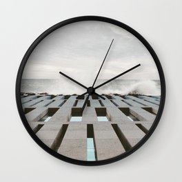 Architecture of Impossible_Sea Museum Wall Clock