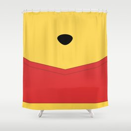 Rumbly in my tummy - Pooh Shower Curtain