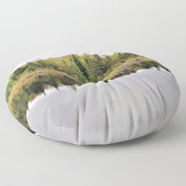 When A Tree Falls In The Forest: Soundwave Floor Pillow