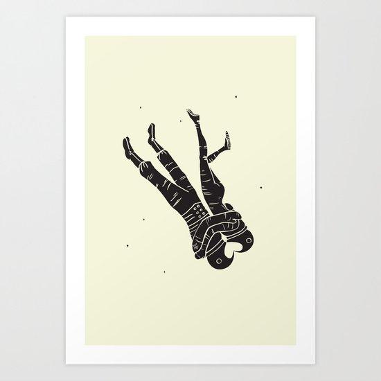 Head Over Heels - Revisited Art Print