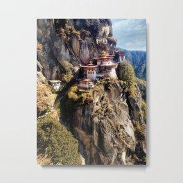 Taktshang Goemba - Tiger's Nest Monastery Metal Print