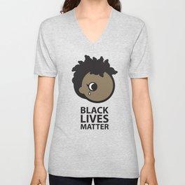 Bmore Black Lives Matter Femme Unisex V-Neck