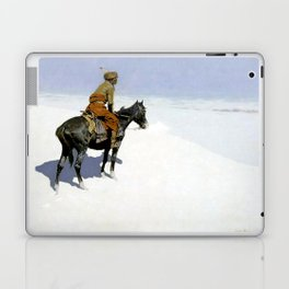 "Frederic Remington Western Art ""The Scout"" Laptop & iPad Skin"