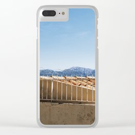 No Entrance Clear iPhone Case