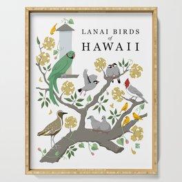 Lanai Birds of Hawaii Serving Tray