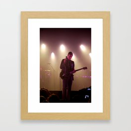 Paul Banks / Interpol at Terminal 5 New York City Framed Art Print