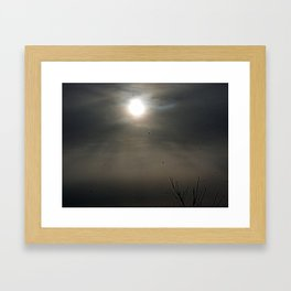 Saving Sunday Framed Art Print