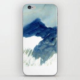 minimalist landscape iPhone Skin