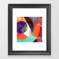 Abstract 2017 004 Framed Art Print