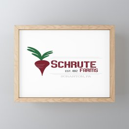 Schrute Farms Framed Mini Art Print