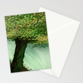 Painted Woods Stationery Cards