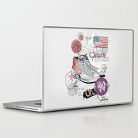 chuck Laptop & iPad Skins featuring The Chuck Taylor by Frances Beale
