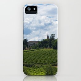 vineyards in France iPhone Case