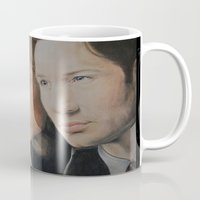 mulder Mugs featuring X Files. Mulder and Scully by Jenn