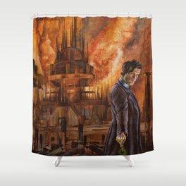 Saviour of Gallifrey Shower Curtain