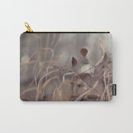 Soft Grass & Leaves Carry-All Pouch