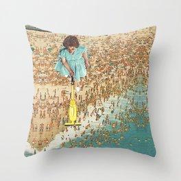OCD Lady Throw Pillow