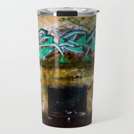 bunker graffiti Travel Mug