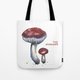The Sickener Mushroom Tote Bag