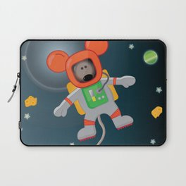 Space Mouse floating in space Laptop Sleeve