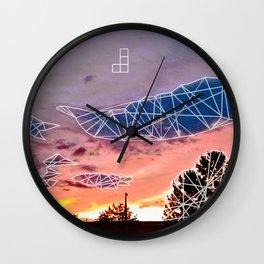 Tmbl & Mrge Wall Clock