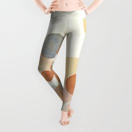 Whimsical abstract Leggings