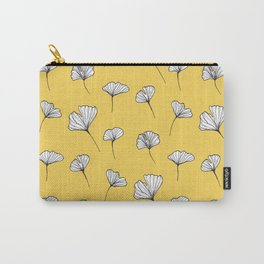 Ginkgo Biloba Leaves Pattern #society6 #decor #buyart Carry-All Pouch