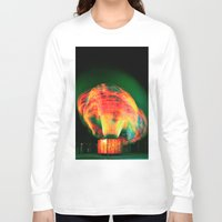 lights Long Sleeve T-shirts featuring Lights by Teodora Roşca